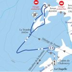 Snowshoe trail : The Tromby Circuit